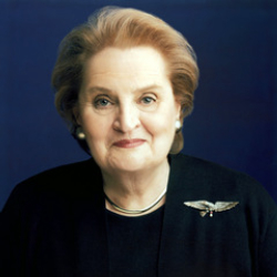 Author Madeleine Albright