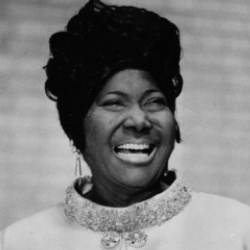 Author Mahalia Jackson