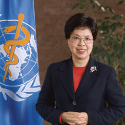 Author Margaret Chan