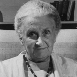 Author Maria Montessori