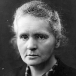 Author Marie Curie