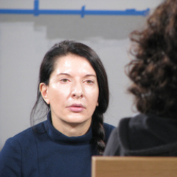 Author Marina Abramovic