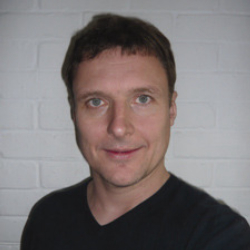 Author Mark Barrowcliffe