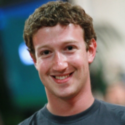 Author Mark Zuckerberg