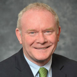Author Martin McGuinness