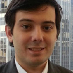 Author Martin Shkreli