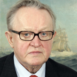 Author Martti Ahtisaari