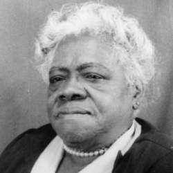 Author Mary McLeod Bethune