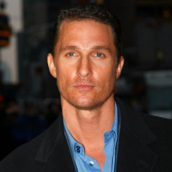 Author Matthew McConaughey