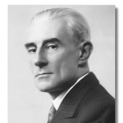 Author Maurice Ravel