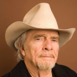 Author Merle Haggard