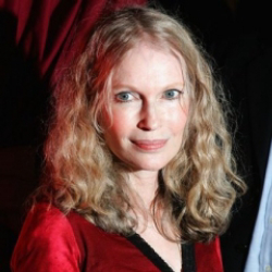 Author Mia Farrow