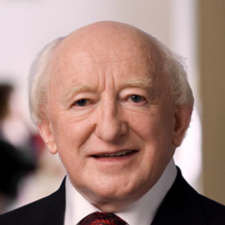 Author Michael D. Higgins