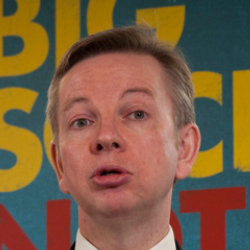 Author Michael Gove