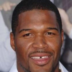 Author Michael Strahan