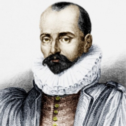 Author Michel de Montaigne
