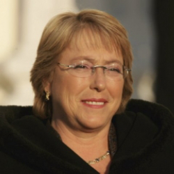 Author Michelle Bachelet