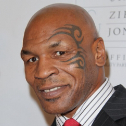 Author Mike Tyson