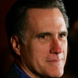 Author Mitt Romney