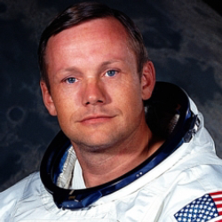 Author Neil Armstrong