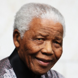 Author Nelson Mandela