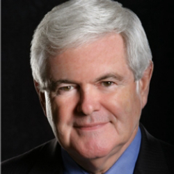Author Newt Gingrich