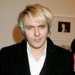 Author Nick Rhodes