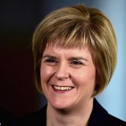 Author Nicola Sturgeon