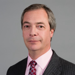 Author Nigel Farage
