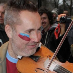 Author Nigel Kennedy