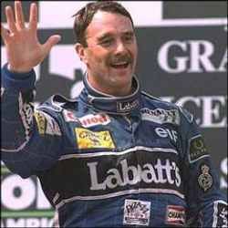 Author Nigel Mansell