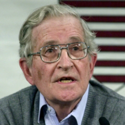 Author Noam Chomsky