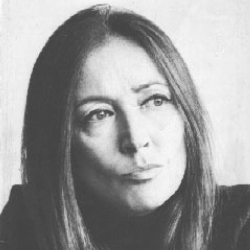 Author Oriana Fallaci