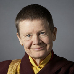 Author Pema Chodron