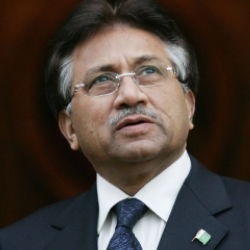 Author Pervez Musharraf