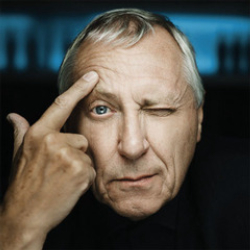 Author Peter Greenaway