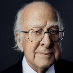 Author Peter Higgs