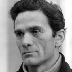 Author Pier Paolo Pasolini