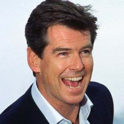 Author Pierce Brosnan
