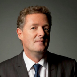 Author Piers Morgan