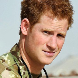Author Prince Harry
