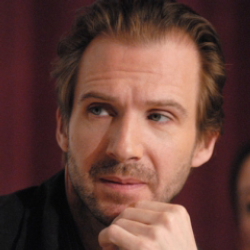 Author Ralph Fiennes