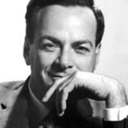 Author Richard P. Feynman