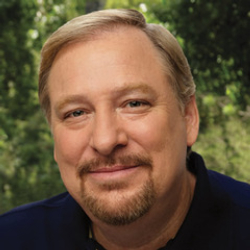 Author Rick Warren