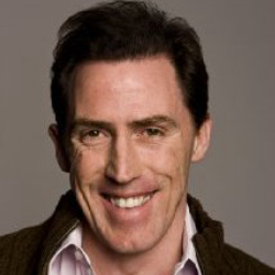 Author Rob Brydon