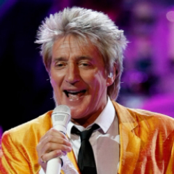 Author Rod Stewart