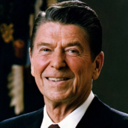 Author Ronald Reagan