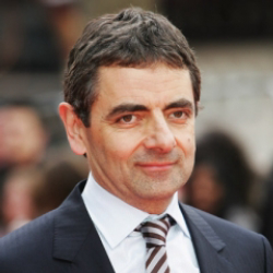 Author Rowan Atkinson