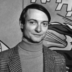 Author Roy Lichtenstein