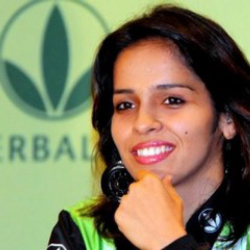 Author Saina Nehwal